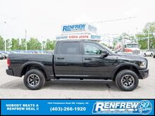 2017_Ram_1500_Rebel Crew Cab 4x4, Sunroof, Heated Seats, Remote Start, Backup Cam_ Calgary AB