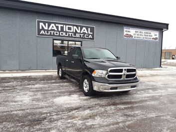 Ram 1500 SLT - QUAD CAB - LOW KLM,S- CLEAN CARFAX Lethbridge AB