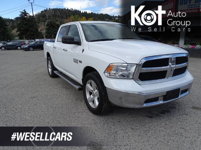 2017 Ram 1500 SLT, One Owner,NO ACCIDENTS! TOW PACKAGE! RUNNING BOARDS 395HP 410 Torque Hemi Engine!! Kelowna BC