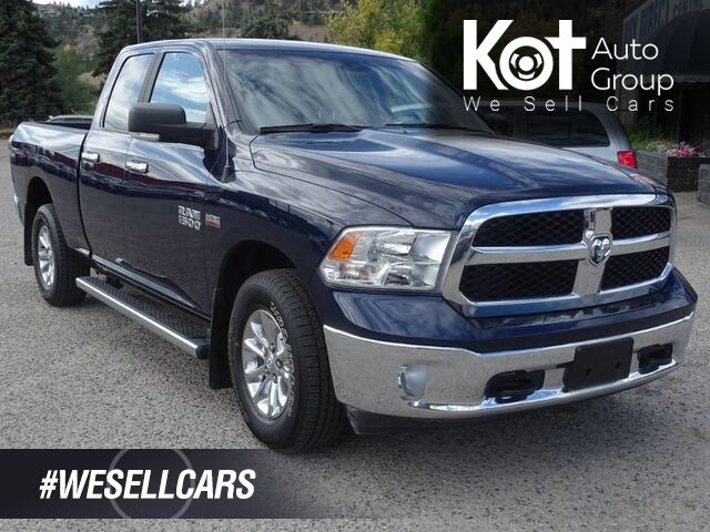 2017 Ram 1500 SLT, Power Rear Window, SXM Radio, Bluetooth Kelowna BC