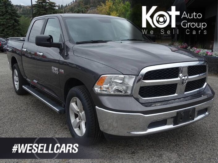 2017 Ram 1500 SLT, TOW PACKAGE! BLUETOOTH! NO ACCIDENTS! Kelowna BC