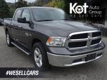 2017 Ram 1500 SLT, Towing Package, Bluetooth, Low KM's, Warranty Remaining, No Accidents
