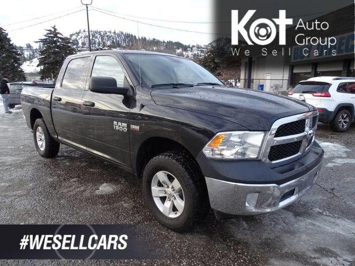 2017 Ram 1500 SXT, Low KM's, Tow Package, Back-up Camera Kelowna BC