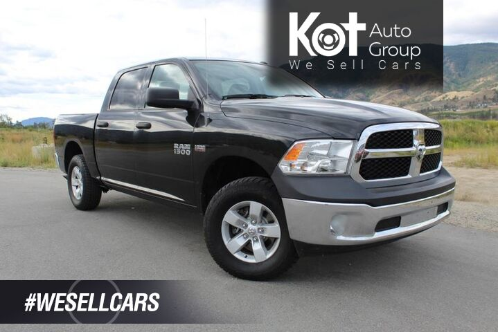 2017 Ram 1500 SXT, Low Km's, Back up Camera, No Accidents Kelowna BC