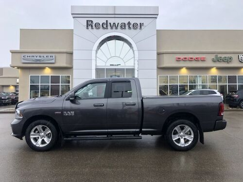 2017_Ram_1500_Sport - 5.7L Hemi Engine - Remote Start - Heated Seats_ Redwater AB