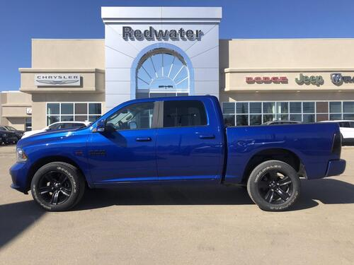 2017_Ram_1500_Sport - Heated Seats - Back-Up Camera_ Redwater AB