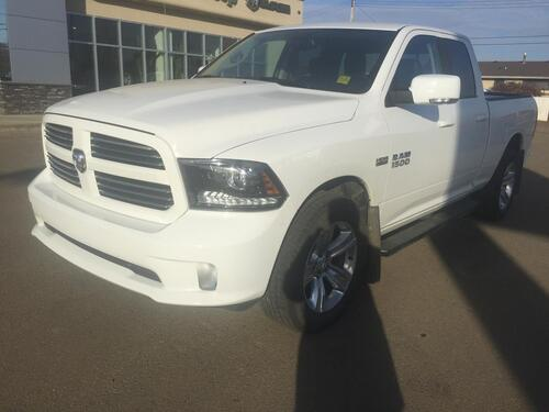 2017_Ram_1500_Sport 4X4 Heated Seats/Wheel Low kms_ Redwater AB