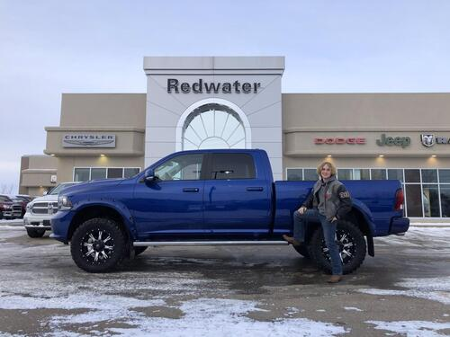 2017_Ram_1500_Sport Rig Ready Ram - Leather - Heated/Cooled Seats - Sunroof - Navigation - One Owner - 34,940 Kms_ Redwater AB