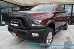 2017_Ram_2500_Power Wagon / 4X4 / 6.4 HEMI V8 / Crew Cab / Auto Start / Power & Heated Cloth Seats / Heated Steering Wheel / Alpine Speakers & Subwoofer / Navigation / Sunroof / Rear Entertainment / Seats 6 / Winch / Canopy / Bed Rug / Tow Pkg_ Anchorage AK