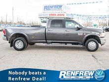 2017_Ram_3500_4WD Laramie Dually, 6.7L Cummins, Navigation, Cooled/Heated Leather Seats, Remote Start, Backup Camera, Bluetooth_ Calgary AB