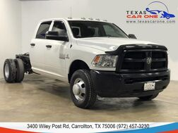 2017_Ram_3500 Chassis Cab_4WD 6.7L TURBO DIESEL CREW CAB DRW TRADESMAN AUTOMATIC LEATHER SEATS_ Carrollton TX