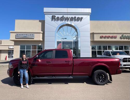 2017_Ram_3500_Laramie Crew Cab 4x4 Cummins Diesel - Long Box - Sport Edition - Power Sunroof - 5th Wheel Prep_ Redwater AB