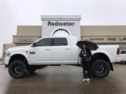 2017_Ram_3500_Laramie Mega Cab - Rig Ready Ram - Cummins Diesel - AISIN Trans - Sunroof - Remote Start - One Owner_ Redwater AB
