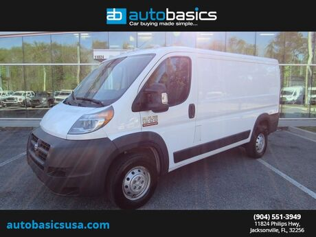 2017 Ram ProMaster 1500 Low Roof Jacksonville FL