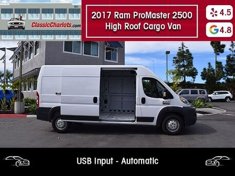 Ram ProMaster 2500 High Roof Cargo Van 2017