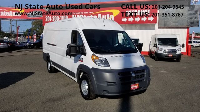 "2017 Ram ProMaster Cargo Van 3500 High Roof 159"" WB EXT Jersey City NJ"