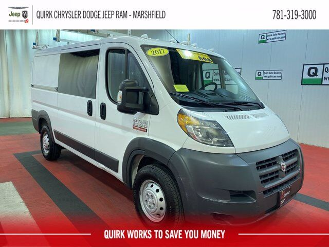 "2017 Ram ProMaster Cargo Van 1500 Low Roof 136"" WB Marshfield MA"