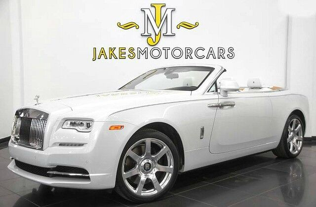 2017 Rolls-Royce Dawn ($403,575 MSRP!!)~ CANADEL WOOD EVERYWHERE~ ANDALUSIAN WHITE San Diego CA