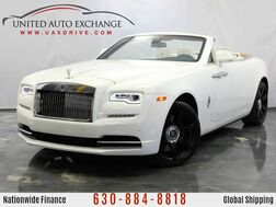 2017_Rolls-Royce_Dawn_6.6L V12 Engine RWD ** COUPE CONVERTIBLE ** w/ Navigation, Bluetooth Connectivity, Front and Rear Parking Aid with Rear View Camera_ Addison IL