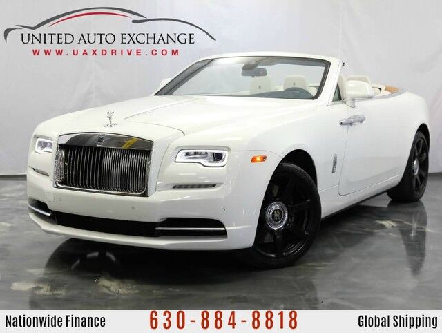 2017 Rolls-Royce Dawn 6.6L V12 Engine RWD ** COUPE CONVERTIBLE ** w/ Navigation, Bluetooth Connectivity, Front and Rear Parking Aid with Rear View Camera Addison IL