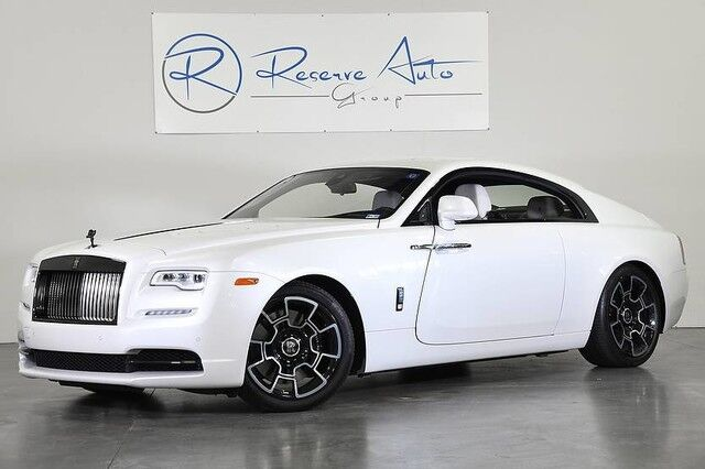 2017 Rolls-Royce Wraith Black Badge $401,770 Original MSRP The Colony TX