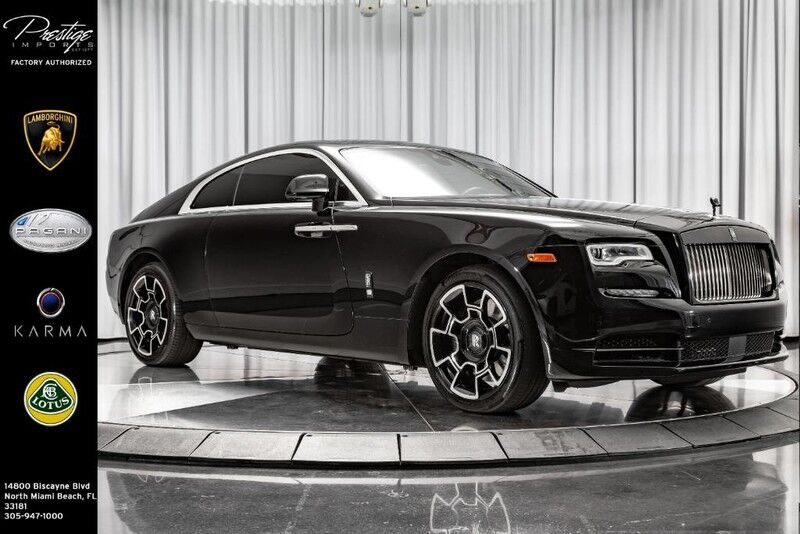 2017_Rolls-Royce_Wraith_Black Badge_ North Miami Beach FL