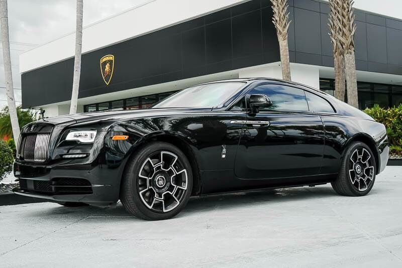 2017_Rolls-Royce_Wraith_Black Badge_ Palm Beach FL