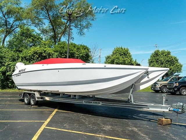 2017_Sonic_32 Foot Catamaran_boat_ Chicago IL