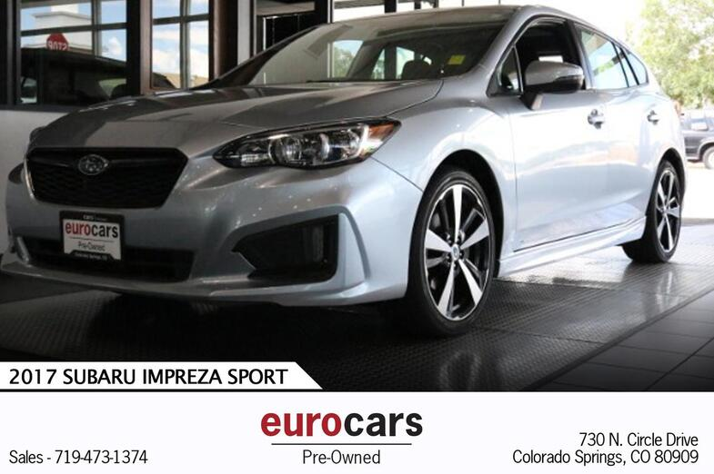 2017 Subaru Impreza Sport Colorado Springs CO