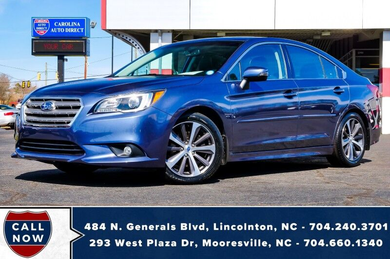 2017 Subaru Legacy 3.6R Limited AWD w/ Heated Seats Mooresville NC