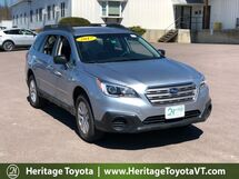 2017 Subaru Outback 2.5i South Burlington VT