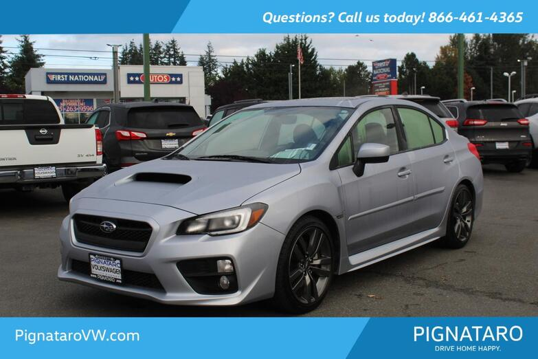 2017 Subaru WRX Limited Everett WA