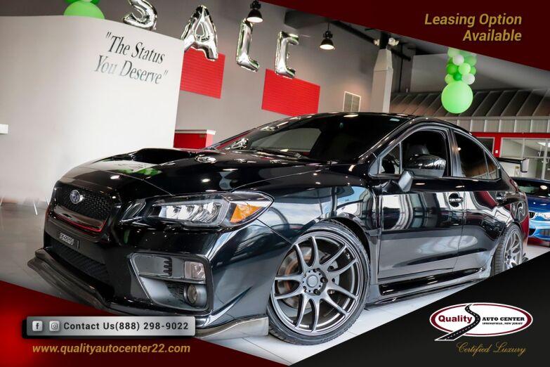 2017 Subaru WRX Limited Popular Package Springfield NJ