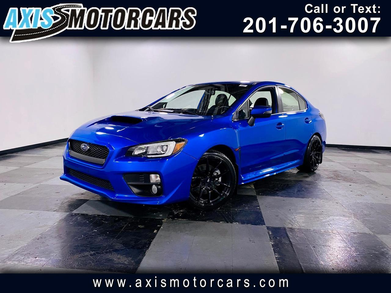 2017 Subaru WRX Manual w/Harman/Kardon Navigation Sun Roof Jersey City NJ