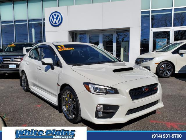 2017 Subaru WRX STI Limited Manual w/Wing Spoiler White Plains NY