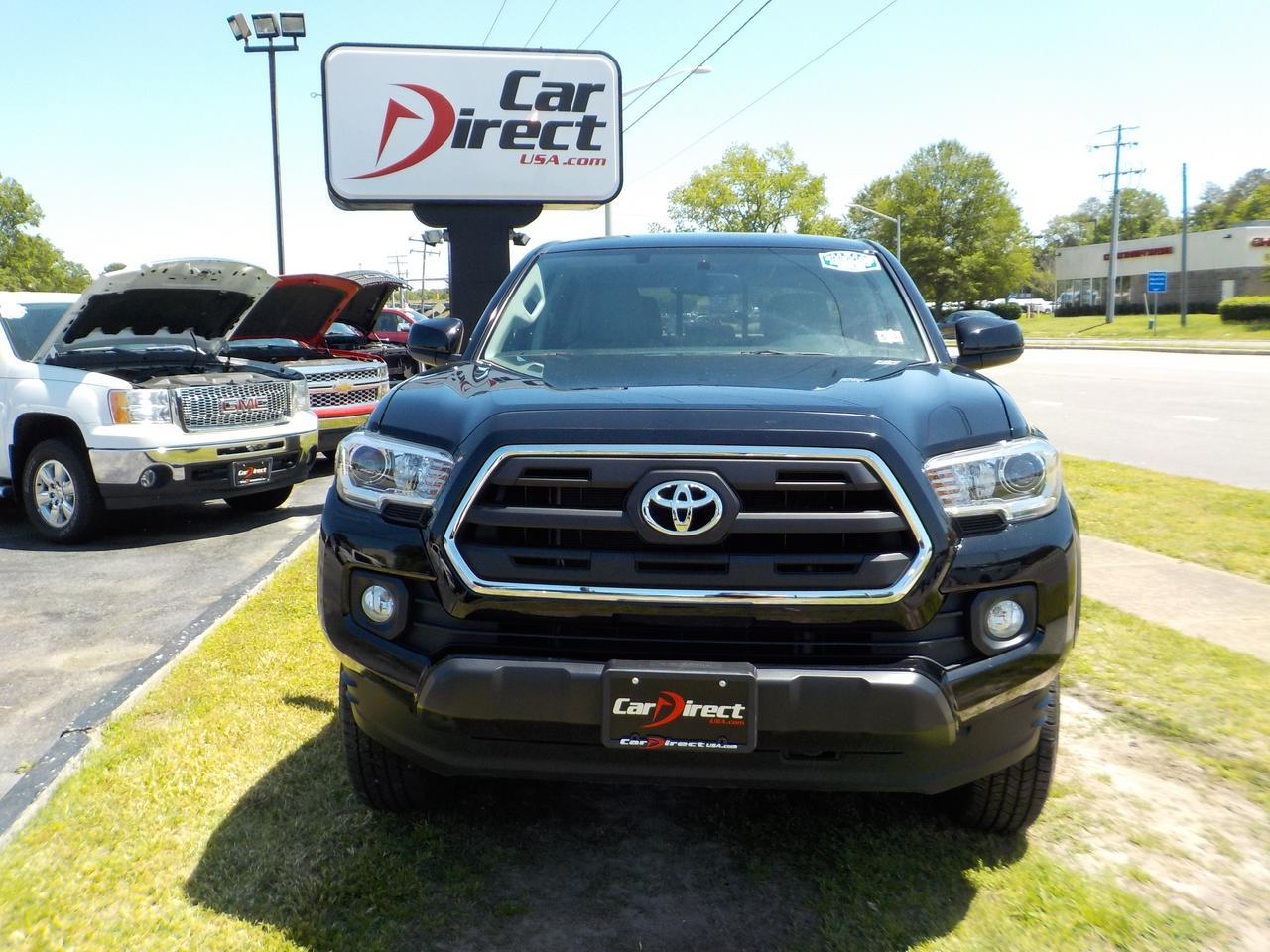2017 TOYOTA TACOMA SR5 CREW CAB 4X4, WARRANTY, CARFAX ONE OWNER, LEATHER, TONNEAU COVER, STEP SIDE, TOW, BACKUP CAMERA! Virginia Beach VA