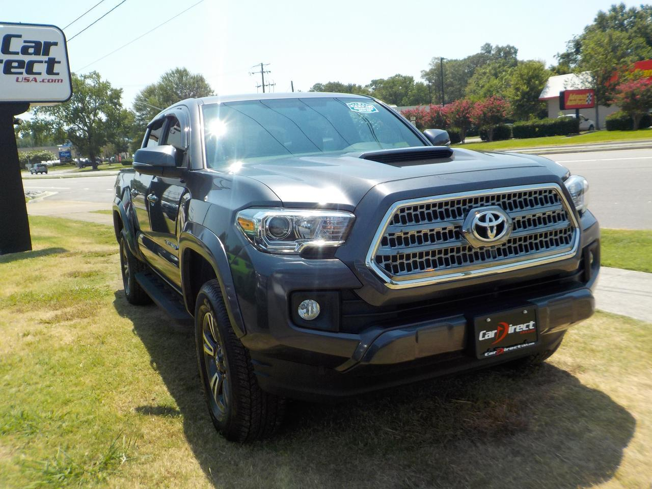 2017 TOYOTA TACOMA DOUBLE CAB TRD SPORT 4X4, ONE OWNER, HEATED SEATS, NAVI, HARD TONNEAU COVER, ONLY 35K MILES! Virginia Beach VA