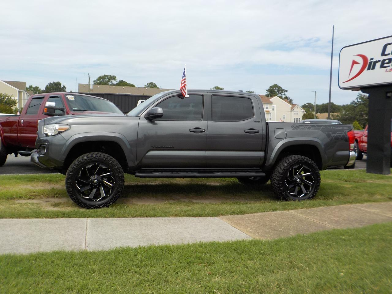 2017 TOYOTA TACOMA SR5 DOUBLE CAB 4X4, LIFTED, BACKUP CAM, SIRIUS RADIO, AUX/USB PORT, BLUETOOTH, ONLY 8K MILES... NEW! Virginia Beach VA