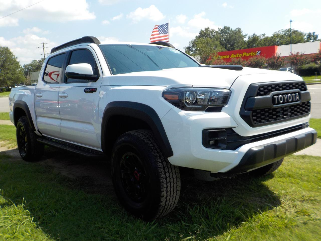 2017 TOYOTA TACOMA TRD PRO DOUBLE CAB 4X4, LEATHER, NAV, BACKUP CAM, PARKING SENSORS, HEATED FRONT SEATS, LOW MILES! Virginia Beach VA