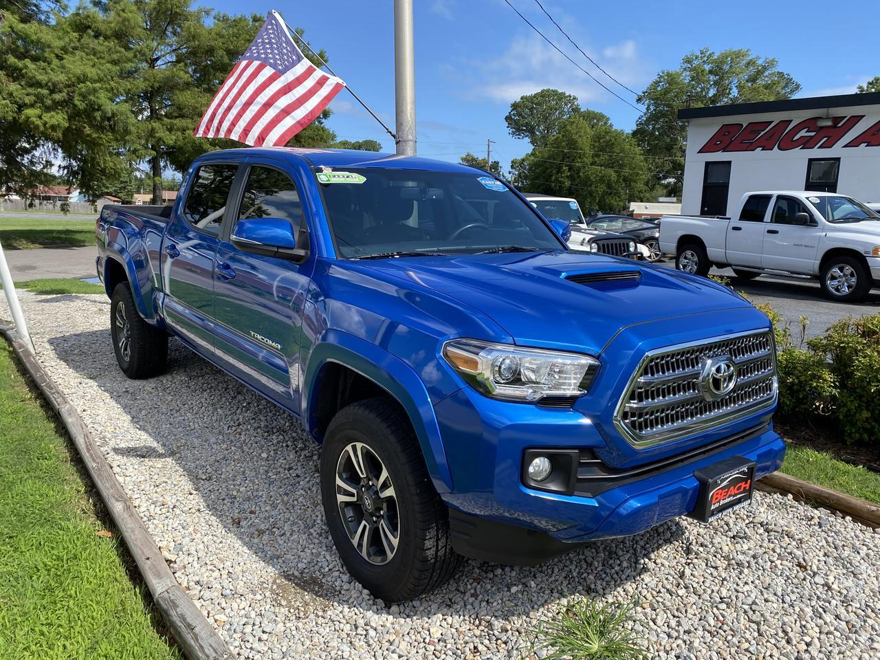 2017 TOYOTA TACOMA TRD SPORT DOUBLE CAB 4X4, WARRANTY, NAV, BLUETOOTH, TOW PKG, SIRIUS RADIO, BACKUP CAM, 1 OWNER! Norfolk VA