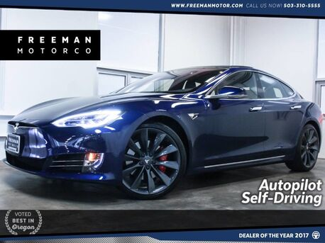2017_Tesla_Model S_P100D Autopilot Self Driving Pano Roof_ Portland OR