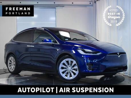 2017_Tesla_Model X_75D AWD Autopilot Pano Roof Air Suspension_ Portland OR