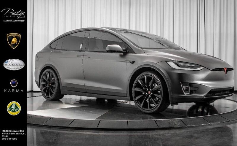 2017_Tesla_Model X_75D_ North Miami Beach FL