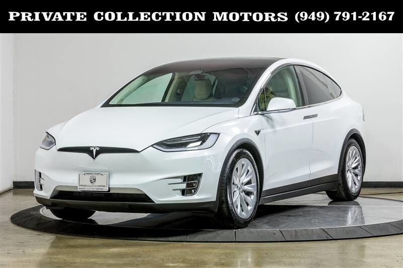 2017_Tesla_Model X_75D Supercharge Enabled CA HOV Eligible_ Costa Mesa CA