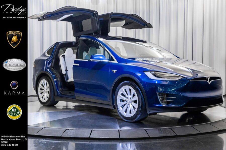 2017_Tesla_Model X_90D_ North Miami Beach FL
