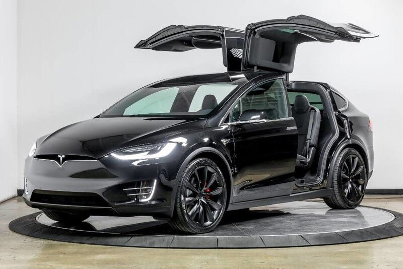 2017_Tesla_Model X_P100D_ Costa Mesa CA
