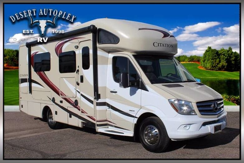 2017 Thor Citation 24SV Single Slide Class C RV Mesa AZ