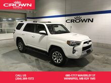 2017_Toyota_4Runner_4WD TRD Off Road / One Owner / Local / Lease Return / Immaculate Condition_ Winnipeg MB