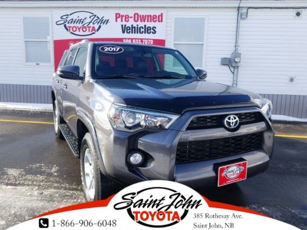 2017 Toyota 4Runner Backup Cam, XM, B/T, Heated seats Saint John NB
