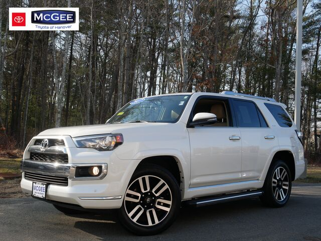 2017 Toyota 4Runner Limited 4WD Hanover MA